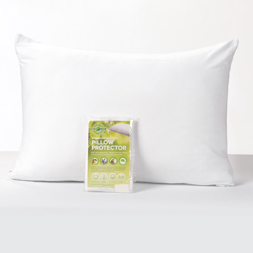 Greenfirst® Jersey Knit Standard Pillow Protector