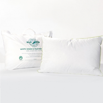 Greenfirst® 30/70 Feather & Down Pillow